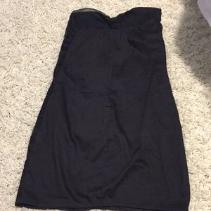 Zara Dresses - Black Sweetheart Strapless Dress